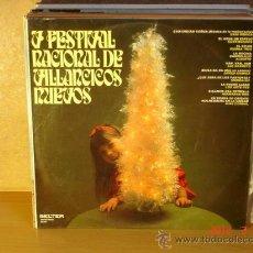 Dischi in vinile: JAVIER MADINA, HERMANAS ROS, MARGALUZ Y MAS - V FESTIVAL DE VILLANCICOS NUEVOS - 1971. Lote 30727347