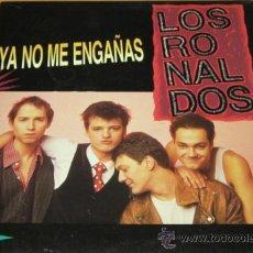 Discos de vinilo: LOS RONALDOS - YA NO ME ENGAÑAS - MX - EMI 1990 SPAIN 052 1223536 N MINT. Lote 30734688