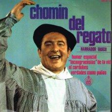 Discos de vinilo: CHOMIN DEL REGATO - HUMOR ESPACIAL / INCONGRUENCIAS DE LA VID / EL CORDOBES, ETC - EP 1968. Lote 30743529