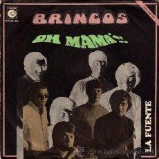 Discos de vinilo: LOS BRINCOS ··· OH MAMA!! / LA FUENTE - (SINGLE 45 RPM). Lote 30727477