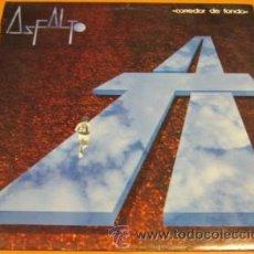 Discos de vinilo: ASFALTO - CORREDOR DE FONDO - LP - SNIF 1986 SPAIN LD1.004 - LETRAS - N MINT. Lote 30734208
