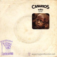 Discos de vinilo: CANARIOS ··· CHILD / REQUIEM FOR A SOUL - (SINGLE 45 RPM). Lote 30737968
