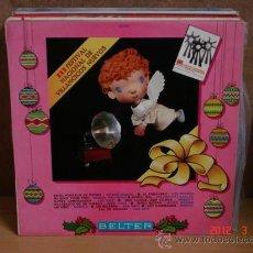 Disques de vinyle: LOS DOS, JAVIER MADINA, MIGUEL PALOMINO, MARI CRUZ Y MAS - III FESTIVAL DE VILLANCICOS NUEVOS - 1969. Lote 30740698
