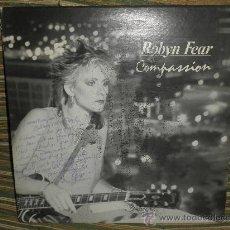 Discos de vinilo: ROBYN FEAR - COMPASSION - ORIGINAL U.S.A. - LUVLITE 1985 - FUNDA INT. ORIG. - DEDICADO Y FIRMADO.. Lote 30748209
