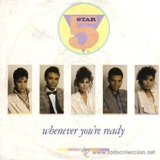 Discos de vinilo: FIVE STAR ··· WHENEVER YOU'RE READY / FOREVER YOURS - (SINGLE 45 RPM). Lote 29003895