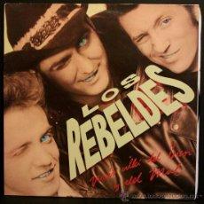 Discos de vinilo: LP 003 LOS REBELDES MAS ALLA DEL BIEN Y DEL MAL PRODUCTORA EPIC 1988. Lote 30750017
