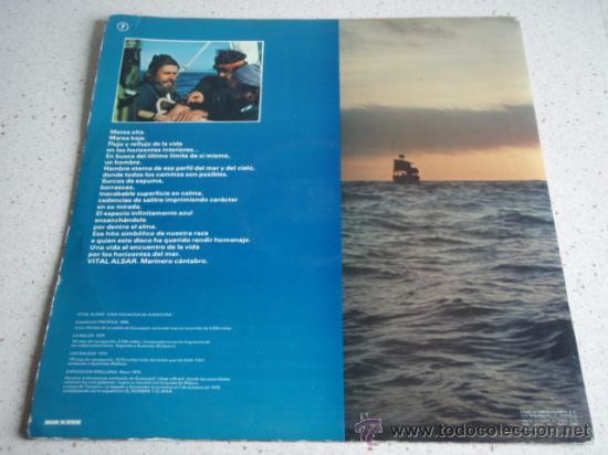 Discos de vinilo: CORAL SALVÉ DE LAREDO HABANERAS 1er PREMIO CERTAMEN INTERNACIONAL TORREVIEJA 1978 LP33 - Foto 2 - 30750157