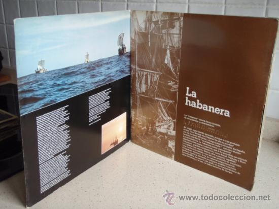 Discos de vinilo: CORAL SALVÉ DE LAREDO HABANERAS 1er PREMIO CERTAMEN INTERNACIONAL TORREVIEJA 1978 LP33 - Foto 3 - 30750157