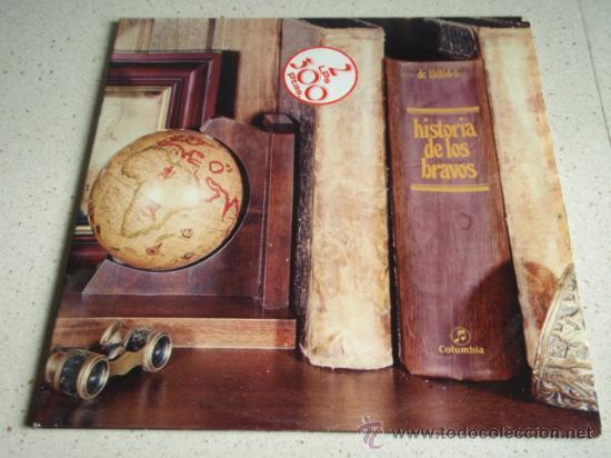 LOS BRAVOS ' HISTORIA DE LOS BRAVOS ' DOBLE LP33 (LA MOTO, BLACK IS BLACK, SYMPATHY,...) 1975 (Música - Discos - LP Vinilo - Grupos Españoles de los 70 y 80)