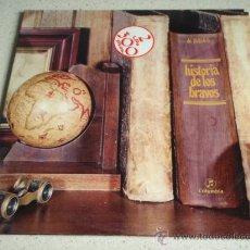 Discos de vinilo: LOS BRAVOS ' HISTORIA DE LOS BRAVOS ' DOBLE LP33 (LA MOTO, BLACK IS BLACK, SYMPATHY,...) 1975. Lote 30752727