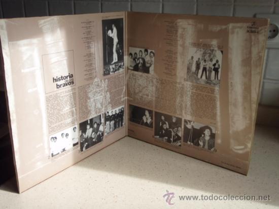 Discos de vinilo: LOS BRAVOS HISTORIA DE LOS BRAVOS DOBLE LP33 (LA MOTO, BLACK IS BLACK, SYMPATHY,...) 1975 - Foto 3 - 30752727