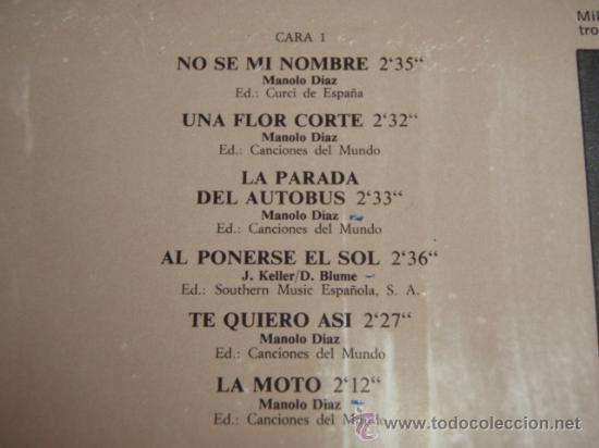 Discos de vinilo: LOS BRAVOS HISTORIA DE LOS BRAVOS DOBLE LP33 (LA MOTO, BLACK IS BLACK, SYMPATHY,...) 1975 - Foto 4 - 30752727