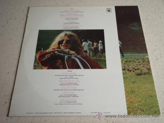 Discos de vinilo: Janis Joplin – Janis Joplins Greatest Hits Spain,1983 CBS - Foto 2 - 30752987