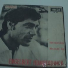 Discos de vinilo: ENGELBERT HUMPERDINCK - TEN GUITARS - SINGLE 1966. Lote 30755320