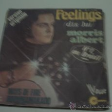 Disques de vinyle: MORRIS ALBERT - FEELINGS / WAYS OF FIRE / BOOMBAMAKAOO - SINGLE VOGUE FRANCIA 1975 PEPETO. Lote 30755386