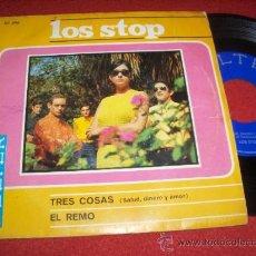 Discos de vinil: LOS STOP SALUD, DINERO Y AMOR/EL REMO 7 SINGLE 1967 BELTER. Lote 30778701