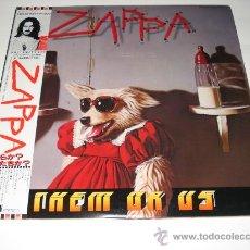 Discos de vinilo: FRANK ZAPPA / THEM OR US - 2 LP DOBLE PORTADA AUDIÓFILOS JAPÓN CON OBI Y ENCARTES ORIGINALES!!!! . Lote 26015821