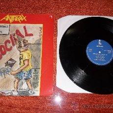 Discos de vinilo: ANTHRAX ANTISOCIAL MEGADETH SLAYER METALLICA.... Lote 30760639