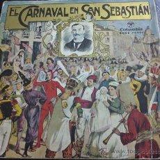 Discos de vinilo: EL CARNAVAL DE SAN SEBASTIÁN - BANDA DE TAMBORES Y BARRILES DE LA FANFARE DE GAZTELUBIDE - EP. Lote 30763205