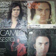 Discos de vinilo: CAMILO SESTO. Lote 30763754