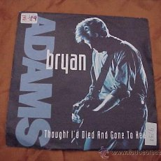 Discos de vinilo: BRYAN ADAMS. THOUGHT I'D DIED AND GONE TO HEAVEN. A&M RECORDS 1991. VINILO IMPECABLE. Lote 30768169