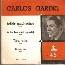 Discos de vinilo: SINGLE DE CARLOS GARDEL . Lote 30769205