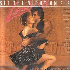 Discos de vinilo: LAMBADA - SET THE NIGHT ON FIRE D-VARIOS-483-2. Lote 38453609