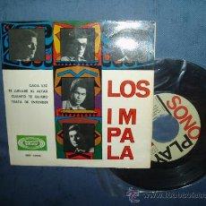 Discos de vinilo: LOS IMPALA EP SONOPLAY ROCK VENEZOLANO CADA VEZ +3 SPAIN MINT-. Lote 30800950