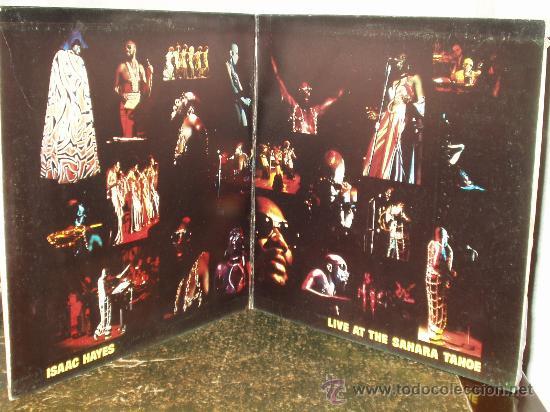 Discos de vinilo: ISAAC HAYES DOBLE LP LIVE AT THE SAHARA TAHOE - Foto 2 - 30805761