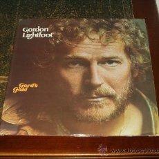 Discos de vinilo: GORDON LIGHTFOOT DOBLE LP GORD'S GOLD. Lote 30806727