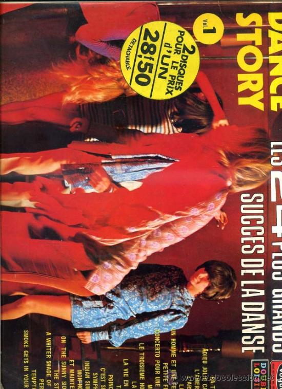 THE HOTVILL'S : LES 24 PLUS GRANDS SUCCES DE LA DANSE - DOBLE LP (VOGUE, 1973) EDICIÓN FRANCESA (Música - Discos - LP Vinilo - Orquestas)