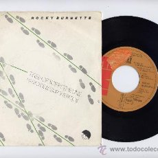 Discos de vinilo: ROCKY BURNETTE. SPANISH SINGLE 45 RPM. TIRED OF TOEIN´ THE LINE+CLOWNS FROM OUTER SPACE. EMI 1980. Lote 30818614