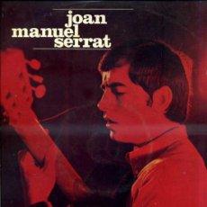 Discos de vinilo: SERRAT : ARA QUE TINC VINT ANYS / CANÇÓ DE BRESSOL... (EDIGSA, 1971). Lote 45717774