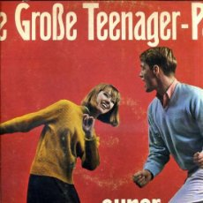 Discos de vinilo: GUS BRENDEL / CRAZY HORSES : DIE GROSSE TEENAGER PARTY (1962) ALEMANIA. Lote 30820216