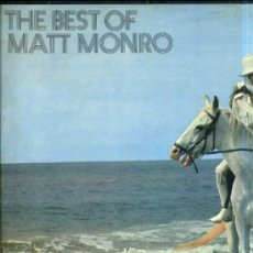 Disques de vinyle: THE BEST OF MATT MONRO (DISCOLIBRO / CAPITOL, 1969). Lote 30820571