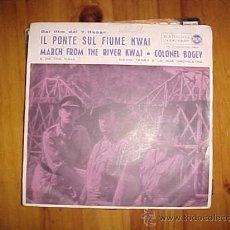 Discos de vinilo: IL PONTE SUL FIUME KWAI. DAVID TERRY Y SU ORQUESTA. EDICION ITALIANA. MICROSURCO. Lote 30829388