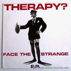 Discos de vinilo: THERAPY? - TURN / SPEEDBALL / BLOODY BLUE / NECKFREAK (MAXISINGLE 45 RPM). Lote 30842822