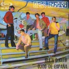 Discos de vinilo: LOS BETA - SINGLE VINILO 7 - EDITADO EN ESPAÑA - BUFALO CLUB + OJOS DE ESPAÑA - SONOPLAY - AÑO 1968. Lote 30848189