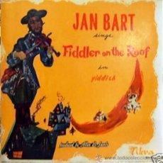 Discos de vinilo: LP DE JAN BART AÑO 1964 EDICIÓN ARGENTINA. Lote 30850976