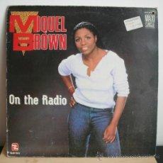 Discos de vinilo: MIQUEL BROWN - ON THE RADIO MAXI SINGLE. Lote 32994746
