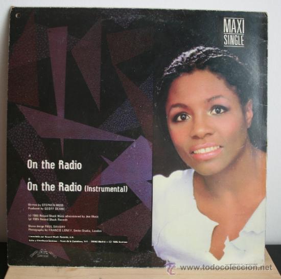 Discos de vinilo: Miquel Brown - On the Radio Maxi Single - Foto 2 - 32994746