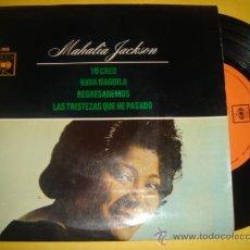 Discos de vinilo: MAHALIA JACKSON -EP- YO CREO + 3 - OR SPAIN 60'S. Lote 30857658