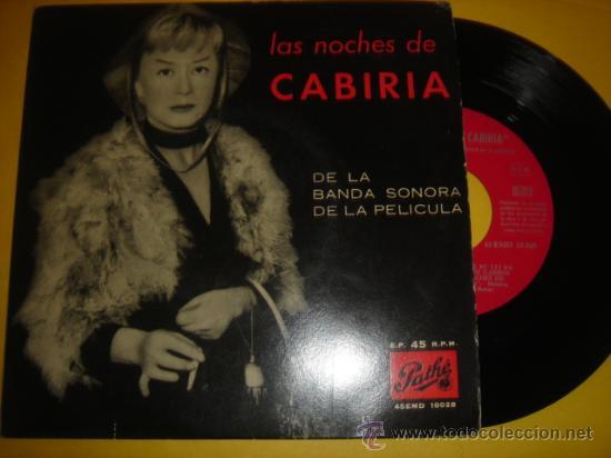LAS NOCHES DE CARIBIA -EP- CARIBIA - RARE SPAIN OST 50'S (Música - Discos de Vinilo - Maxi Singles - Bandas Sonoras y Actores)
