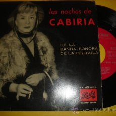 Discos de vinilo: LAS NOCHES DE CARIBIA -EP- CARIBIA - RARE SPAIN OST 50'S. Lote 30857820