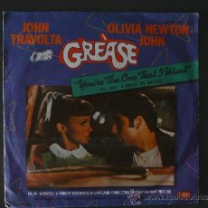 Discos de vinilo: GREASE - YOU´RE THE ONE THAT I WANT - 1978. Lote 30860749
