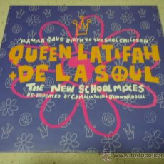 Discos de vinilo: QUEEN LATIFAH + DE LA SOUL (MAMMA GAVE BIRTH TO THE SOUL CHILDREN 3 VERSIONES) ENGLAND-1990 . Lote 30863843