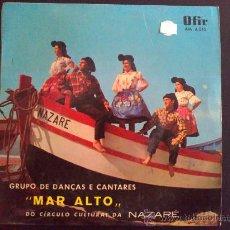 Discos de vinilo: MAR ALTO - VIRA DO BOTE - NAZARÉ, PORTUGAL - EP VINILO. Lote 30864129