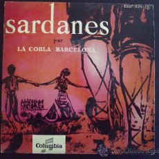 Discos de vinilo: SARDANES - LA COBLA DE BARCELONA - EP VINILO. Lote 30864137