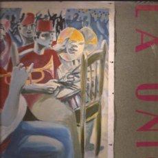 Discos de vinilo: LP-LA UNION-EL MALDITO VIENTO-WEA 1985--FUNDA CON LETRAS. Lote 30869975