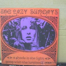 Discos de vinilo: THE LAZY SUNDAYS - A SHADE IN THE LIGHT / GONG WITH THE LUMINOUS NOSE - SUBTERFUGE . Lote 30874181